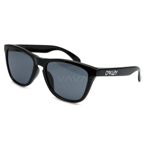 바바에스(VAVAS) - 오클리 FROGSKINS(A) POLISHED BLACK W-GREY